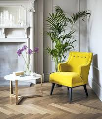 mustard home decor yellow velvet chair in the mood for some mellow yellow in home decor