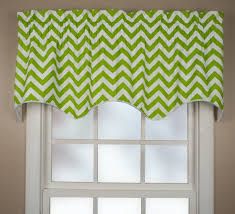 Green Valance Ellis Curtain Reston Scallop Valance 6 Colors
