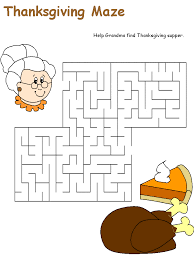 3 thanksgiving mazes thanksgiving worksheets for kindergarten