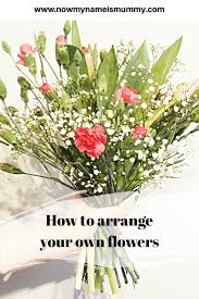 how to arrange your own flowers