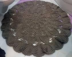 Round Rugs For Bathroom Round Bathroom Rug Etsy