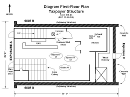 3 Storey Commercial Building Floor Plan Fire Fighter Fatality Investigation Report F99 03 Cdc Niosh