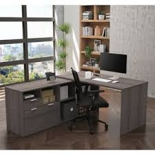 nickel plated desk l l shaped closet system wayfair