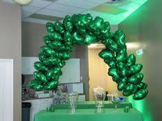 balloon delivery huntsville al balloon arch green and white balloons balloon decor