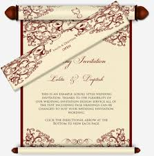 hindu invitation ganesh scroll email wedding invitation in
