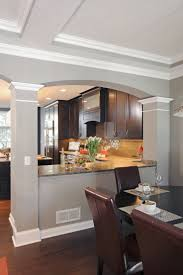 How To Make A Galley Kitchen Look Larger Best 25 Half Wall Kitchen Ideas On Pinterest Kitchen Open To
