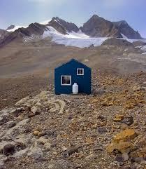 serene isolation r j ritchie hut located in canada u0027s banff