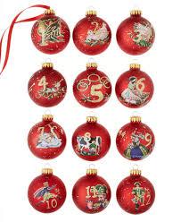 kurt adler 12 days of ornament set for