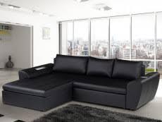 canapé d angle noir simili cuir canape simili cuir pas cher un canapé effet cuir confort