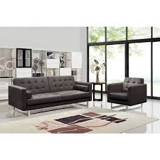 claire fabric modern sofa and chair set free shipping today