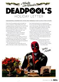 deadpool is ready for thanksgiving with a new poster