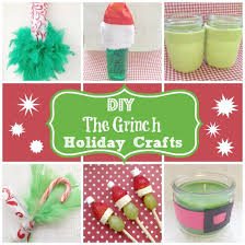 diy grinch crafts and recipes this