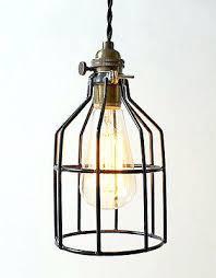 Pendant Light Cord Kit Pendant Cord Light Vintage Metal Bulb Guard Pendant Light Cord