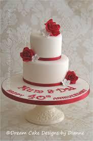 ruby wedding cakes designs ideas 8702 haldol org