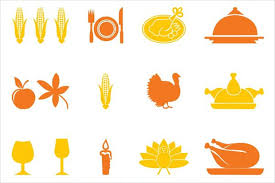 25 thanksgiving icons png eps svg format design trends