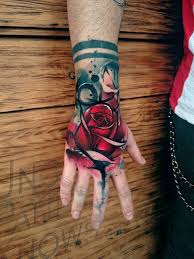 the 25 best rose hand tattoo ideas on pinterest rose tattoo on