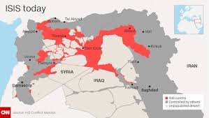 Iraq World Map by Fears Of Terror Export As Isis U0027caliphate U0027 Shrinks Cnn