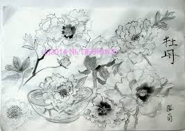 Japanese Flowers Paintings - japanese brush painting instructions nldesignsbythesea