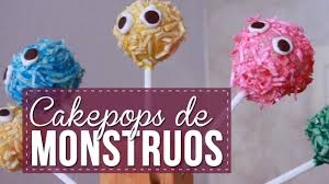 cake pops de monstruos para halloween sonia alicia youtube