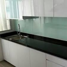 Glass Backsplashes For Kitchens by 6mm Tempered Glass Kitchen Backsplash Backing Choose Any Colour