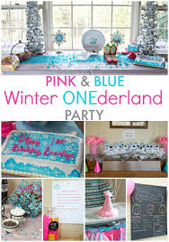 Winter Onederland Party Decorations Winter Onederland Birthday Party Ideas Faithfully Free