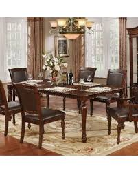 84 inch dining table amazing deal on furniture of america renoir traditional brown cherry