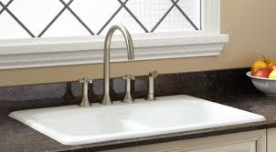 sink kitchen sinks and faucets black farmhouse sink deep double