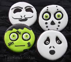 Halloween Cookie Cakes How To Make Easy Halloween Decorated Cookies Part 1 Youtube