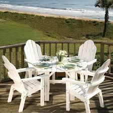 white plastic patio table round plastic outdoor tables designconfidential co