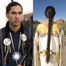 american indian native american hairstyle someone pinned this for the braids i m pinning it for the man