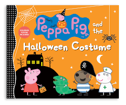 peppa pig halloween peppa pig and the halloween costume susanna chapman
