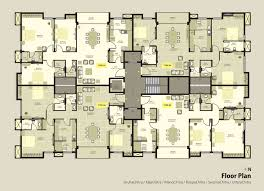 Apartment Plans   Floor Plans Of The Most Famous Tv - Apartment building design plans