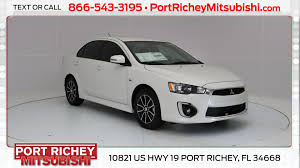 new 2017 mitsubishi lancer for sale port richey fl