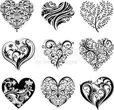 25 unique vector heart ideas on pinterest art clip siluetas de