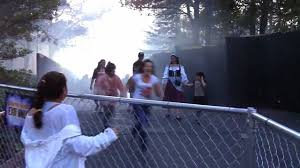 Six Flags Dates Freaked Out At Six Flags Fright Fest In Vallejo Youtube