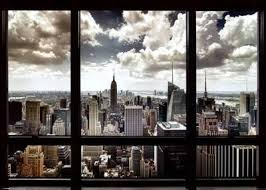 New York At Night Wallpaper The Wallpaper by New York City Posters At Allposters Com