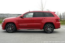 srt jeep red 2016 jeep grand cherokee srt u2013 test drive review ratings specs