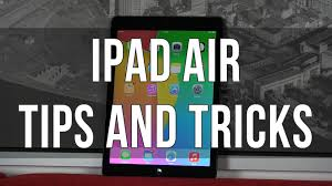 20 ipad air tips and tricks some hidden features youtube
