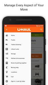 u haul android apps on google play