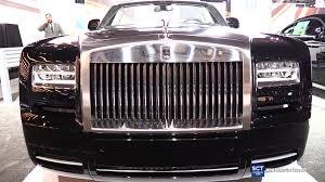 rolls royce drophead interior 2016 rolls royce phantom drophead coupe exterior and interior