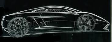 lamborghini gallardo design sketch 08 supercar sketches