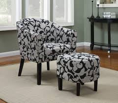 living room chairs and ottomans living room awesome ottoman chair design idea with grey morroccan