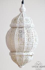 Moroccan Pendant Light Sana Moroccan Hanging Light White With Various Colors Inside