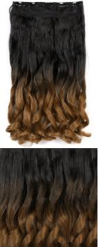 one clip in hair extensions easy one ombre clip in hair extensions family deals