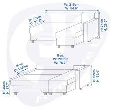 sofa bed measurements 93 with sofa bed measurements bürostuhl