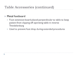 Footboard For Foot Drop Surgical Patient Positioning St210 Concorde Career College