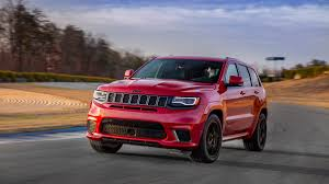 trackhawk jeep black 2018 jeep grand cherokee trackhawk we drive jeep u0027s insane hellcat
