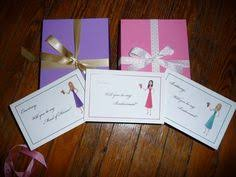Cute Will You Be My Bridesmaid Ideas Will You Be My Bridesmaid Cards Wedding By Takeitpersonallybym
