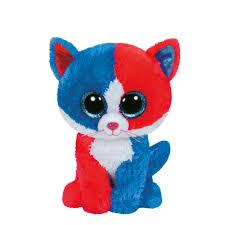 ty beanie boo small spirit firecracker cat plush toy claire u0027s