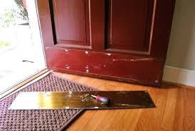 Exterior Door Kick Plate Bronze Kick Plate Front Door Decoration Astonishing Entry Doors